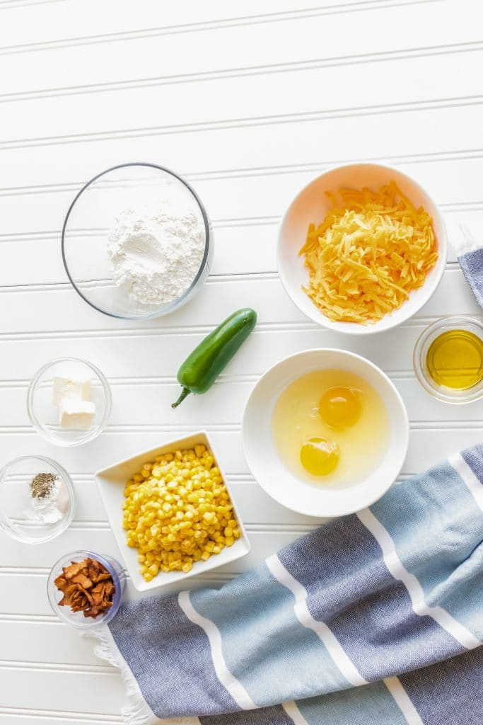 Crispy Corn Cakes Ingredients