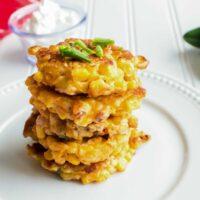 Crispy Corn Cakes