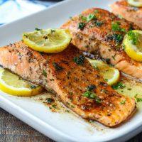 Salmon Meuniere