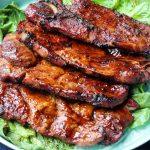 Barbecued Pork Steaks Grilled Pork Steaks