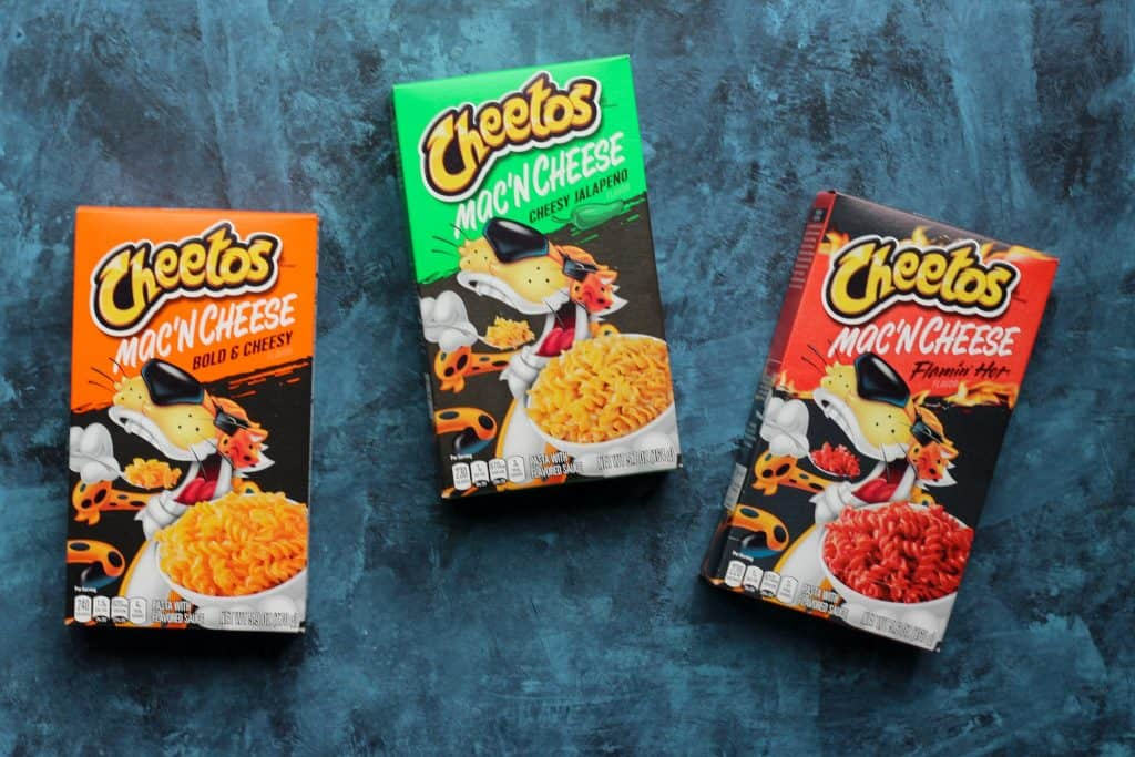 Cheetos Mac n Cheese