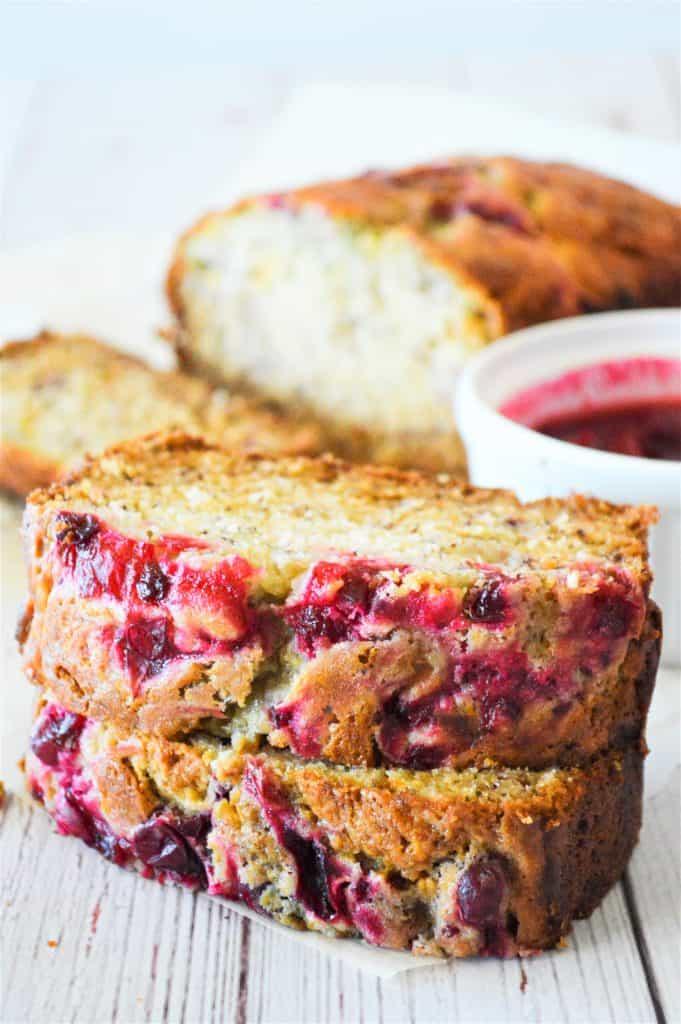 Banana Cranberry Bread
