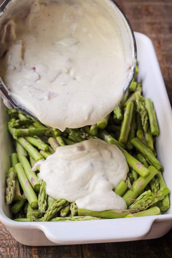 Creamy Asparagus Casserole