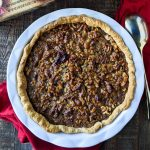 Maple Walnut Pie