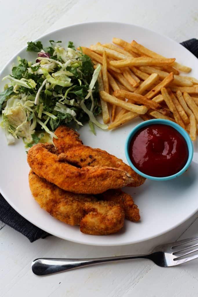 Easy Air Fryer Chicken Strips