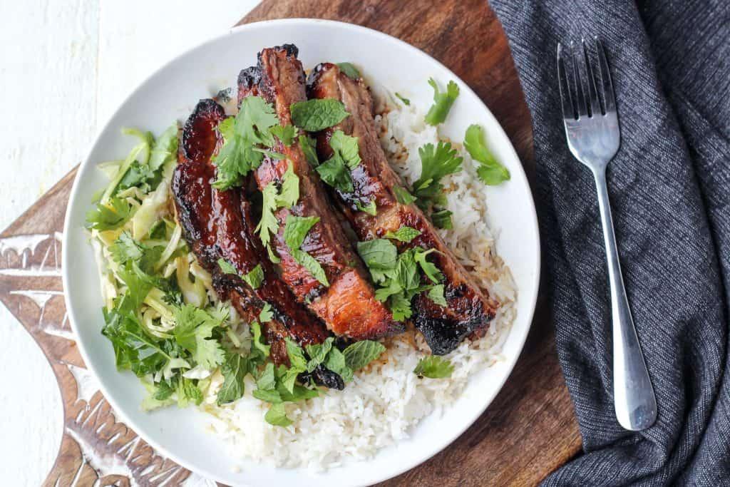 Air Fryer Pork Ribs