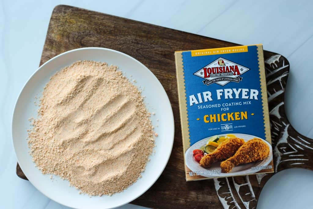 Louisiana Fish Fry Air Fryer Coating