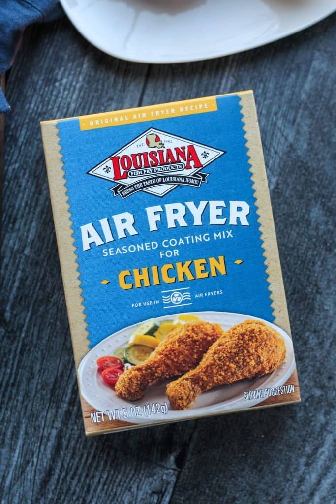 Louisiana Fish Fry Air Fryer Chicken Coating
