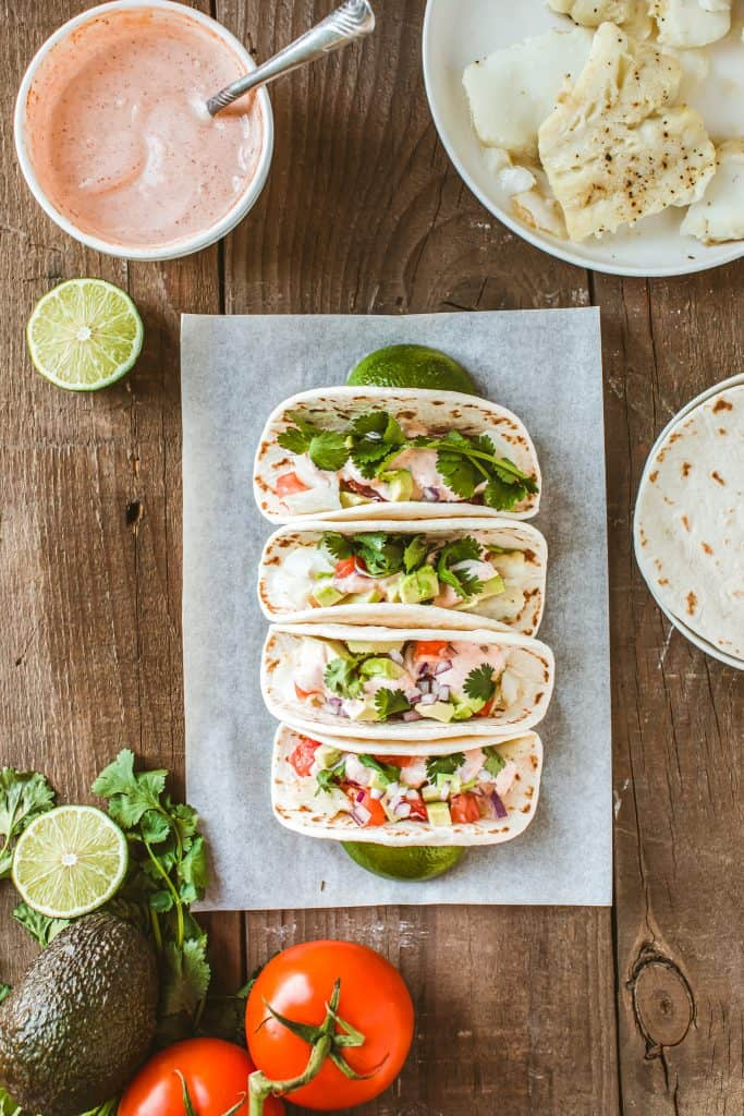 Baked Baja Fish Tacos Recipe