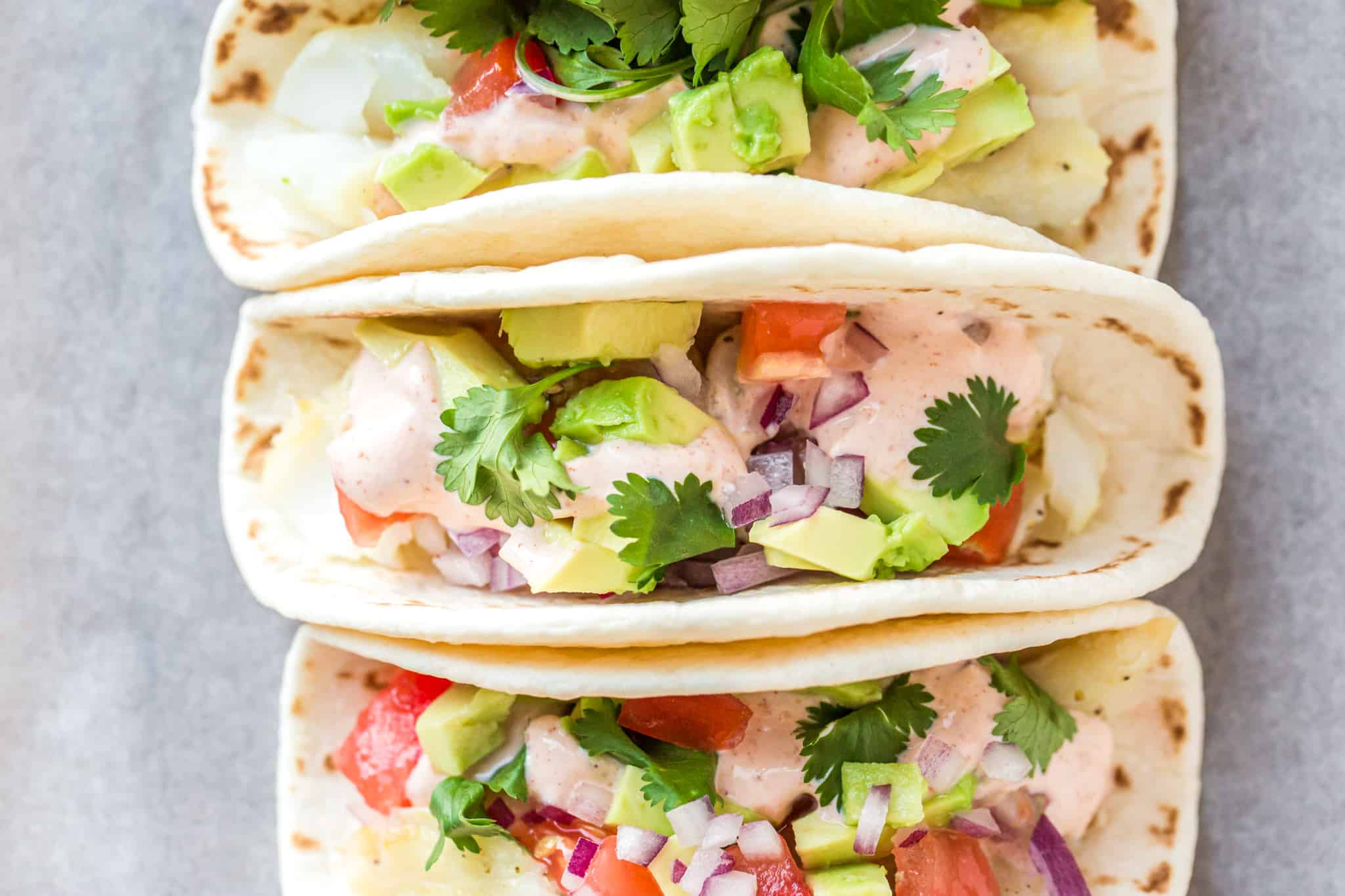 Baked Baja Fish Tacos Recipe