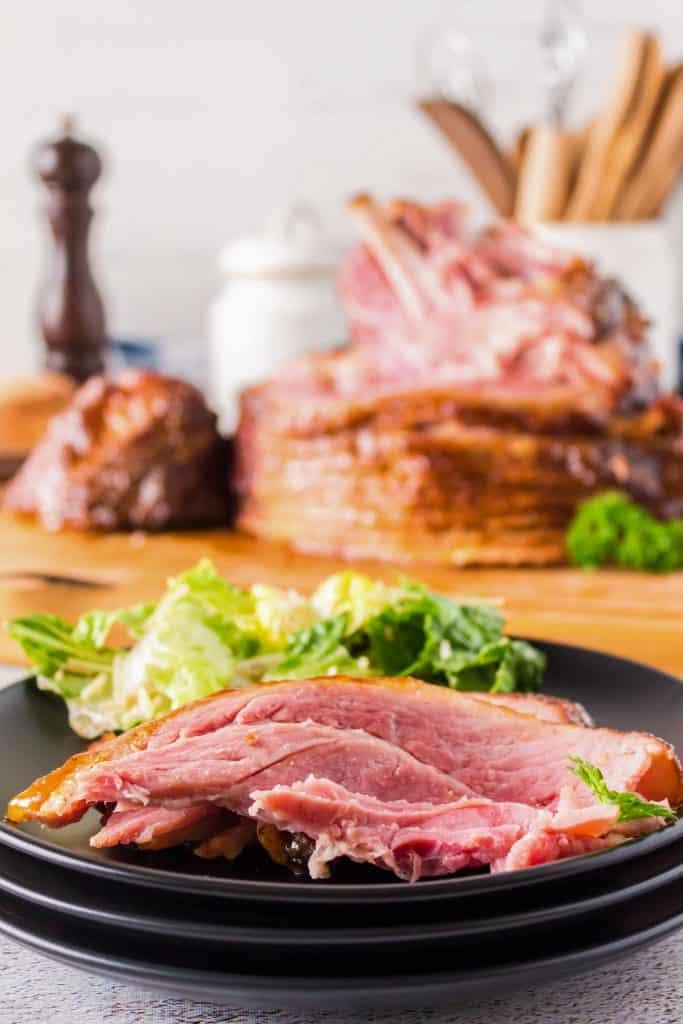 Double Smoked Ham - Twice Smoked Ham - Honey Mustard Ham Glaze