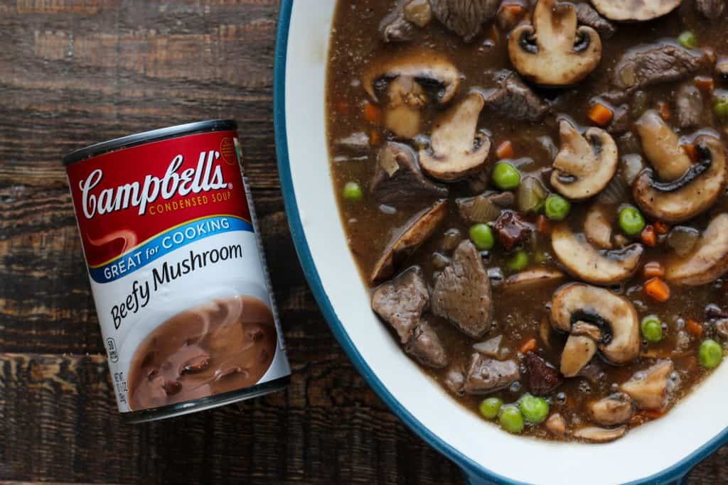 Marsala Mushroom and Beef Pot Pie
