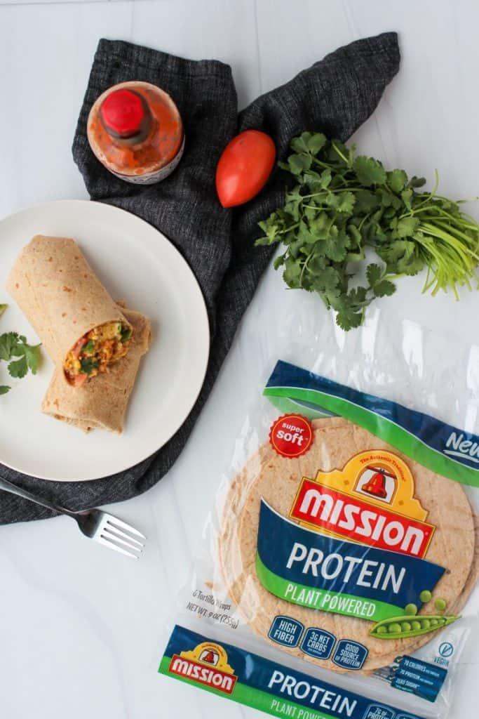 Keto Mexican Breakfast Burrito - Chorizo Breakfast Burrito