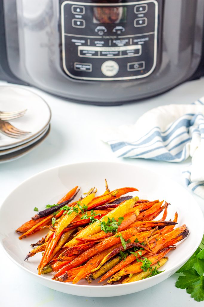 Perfectly Roasted Air Fryer Carrots - Air Fryer Side Dish