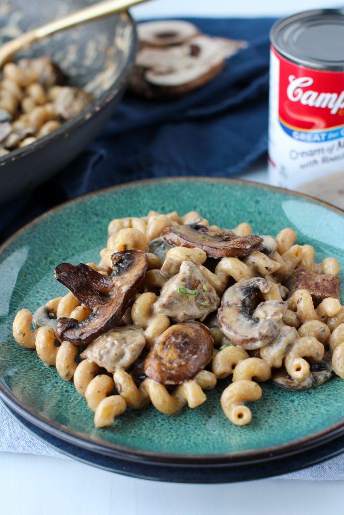 Creamy Steak and Mushroom Pasta